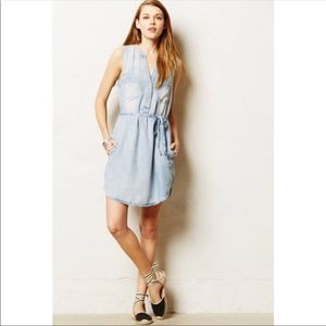 Holding Horses Chambray Dress